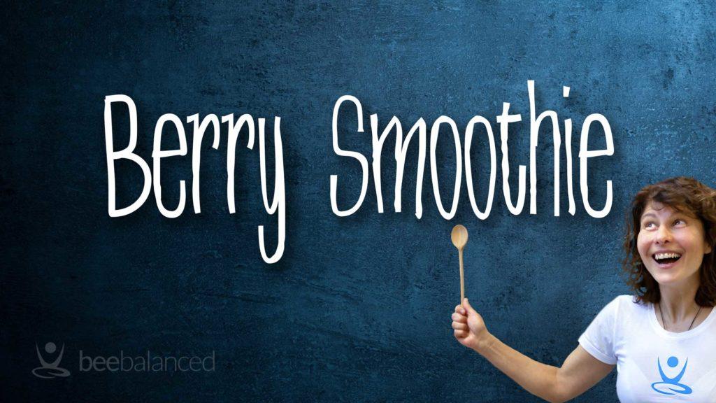 Berry Smoothie Rezept Cover