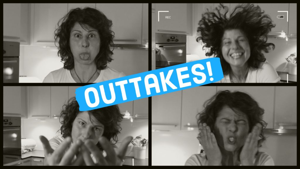 Cover des Outtakes Videos