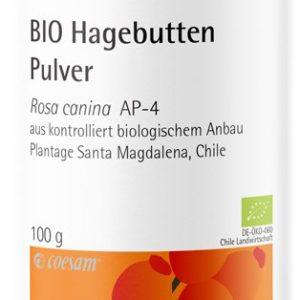 Bio-Hagebuttenpulver-Dose