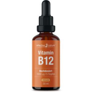 Vitamin-B12-Tropfen-Flasche