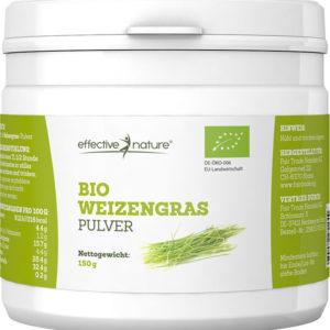 Weizengraspulver-Dose
